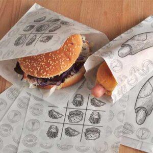 Fast-foodové vrecká